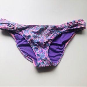Victoria's Secret Swim - Floral bikini bottoms from Victoria Secret